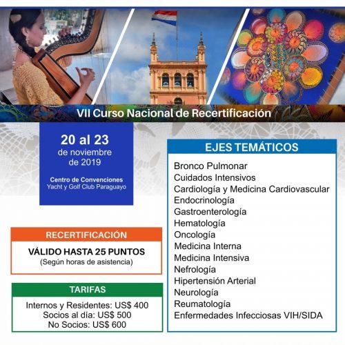 III Board de Medicina Interna Paraguay (Actualizado 29 de Agosto 2019)