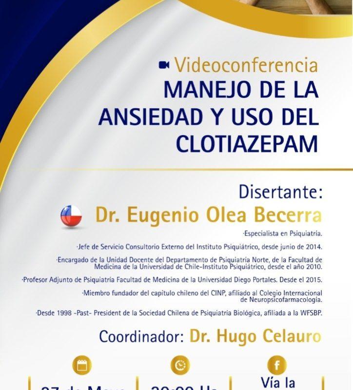 MANEJO DE LA ANSIEDAD Y USO DEL  CLOTIAZEPAM