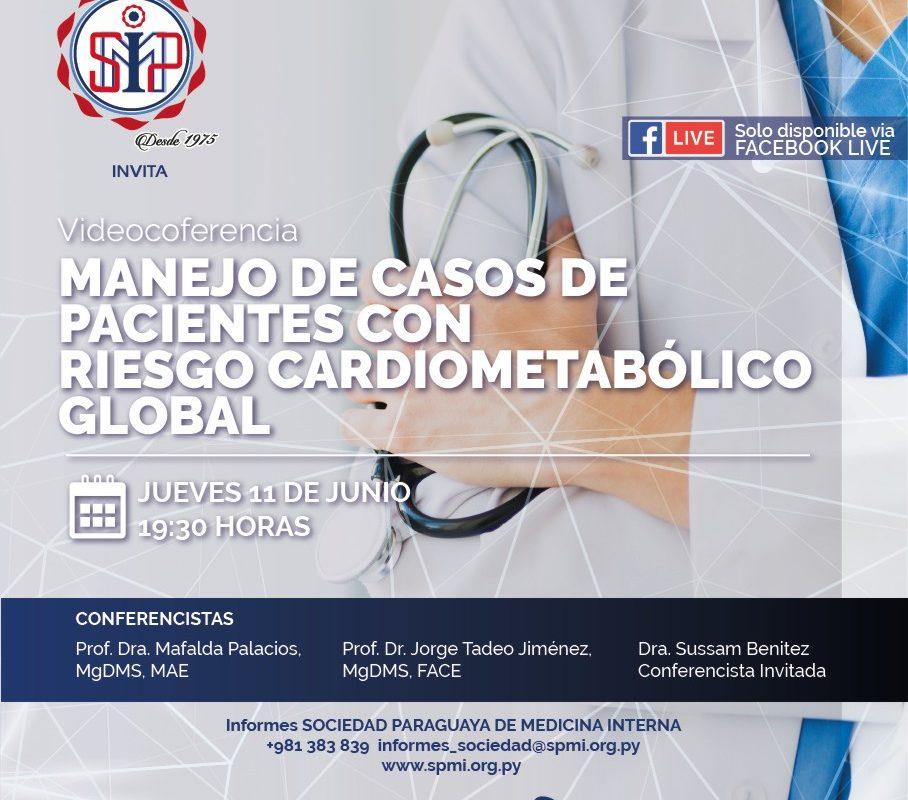 Manejo de casos de pacientes con riesgo cardiometabólico global