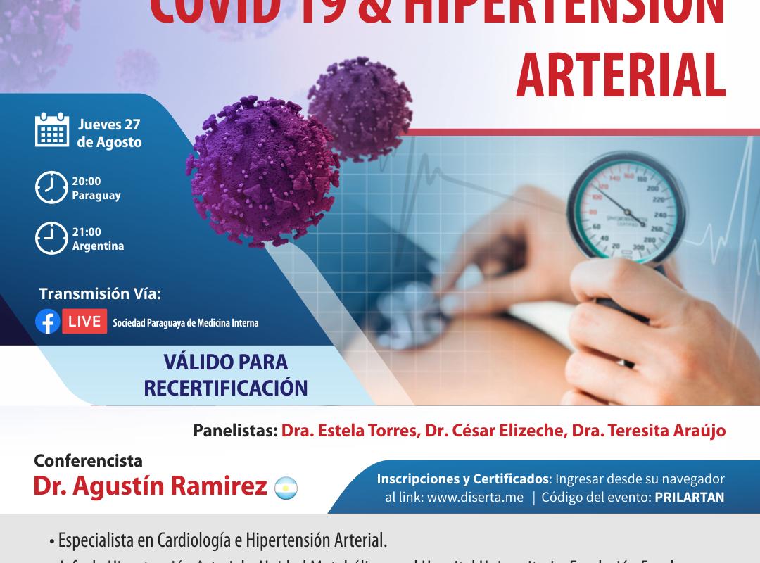COVID 19 & HIPERTENSIÓN ARTERIAL