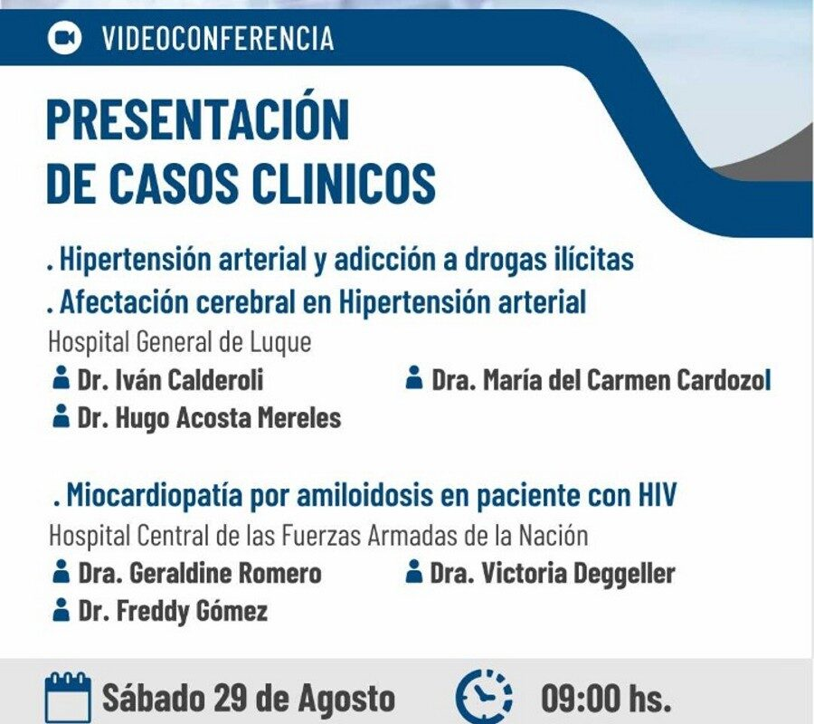 Videoconferencia: Presentación de Casos Clínicos