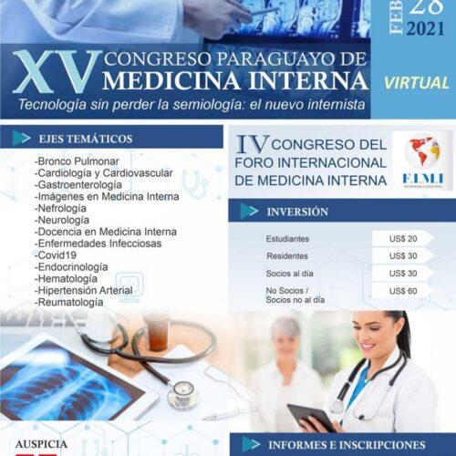 XV Congreso Paraguayo de Medicina Interna