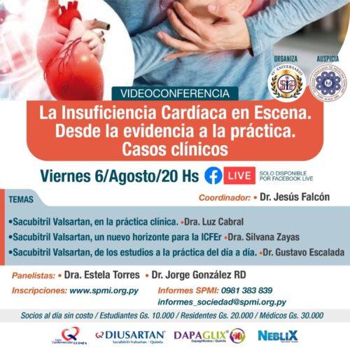 La insuficiencia Cardiáca en Escena. Desde la evidencia a la práctica. Casos Clínicos