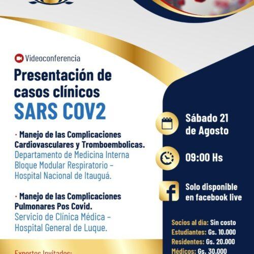 Presentación de casos clínicos SARS COV2